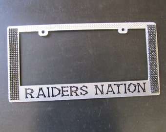 Rhinestone License Plate Frame