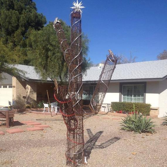 Items Similar To 10 Foot Tall Saguaro Cactus Made Of Rebar