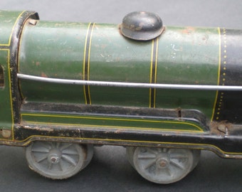 Vintage Mettoy O Gauge  0-4-0 Clockwork  Locomotive No.490