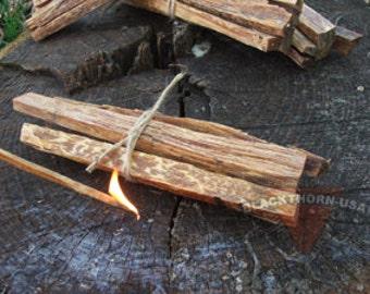fatwood bundle tinder kit - Fatwood