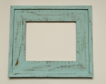 Rustic Barnwood Frame Optional Colors and Sizes