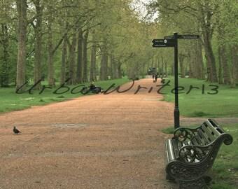 Kensington Gardens London England photograph