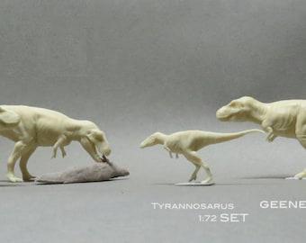 DInosaur Figure Tyrannosaurus rex Resin kit set 1:72 scale T REX