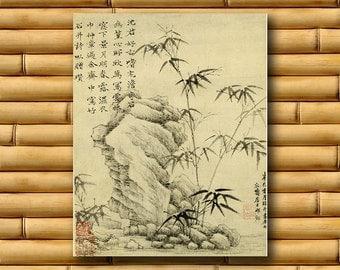 Art Chinese Wall Decor Vintage China Print Asian Poster (CH12)