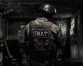 Swat Senses by Artist Jason Bullard