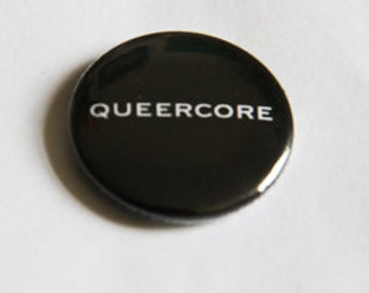 "button / badge  ""queercore"""
