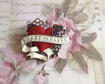 HeartBreaker hair Slide/Pin