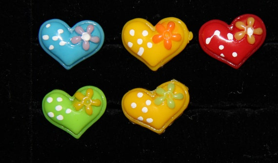 Adjustable Heart Ring for Kids from PurpleCat