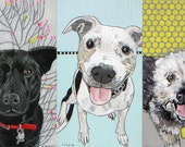 Gift Certificate for Custom Pet Portrait from a photo of your pet