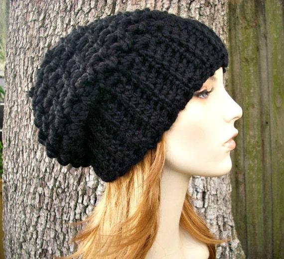Crochet Slouch Hat: Instant Download Crochet Pattern Slouchy Hat Crochet By