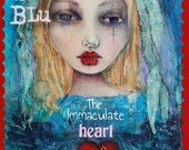 Mixed Media Inspiration Art Workshop Immaculate Heart of Mary