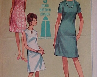 1967 Easy Peasy Sewing Pattern Misses dress size 14
