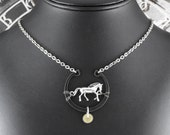 Steampunk Horse Equestrian Necklace - Trotting in Time by COGnitive Creations