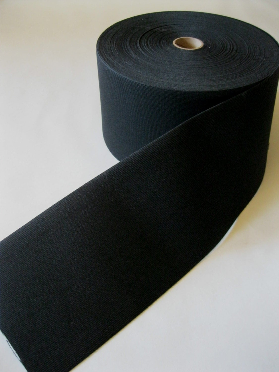 black elastic 4 inches extra wide