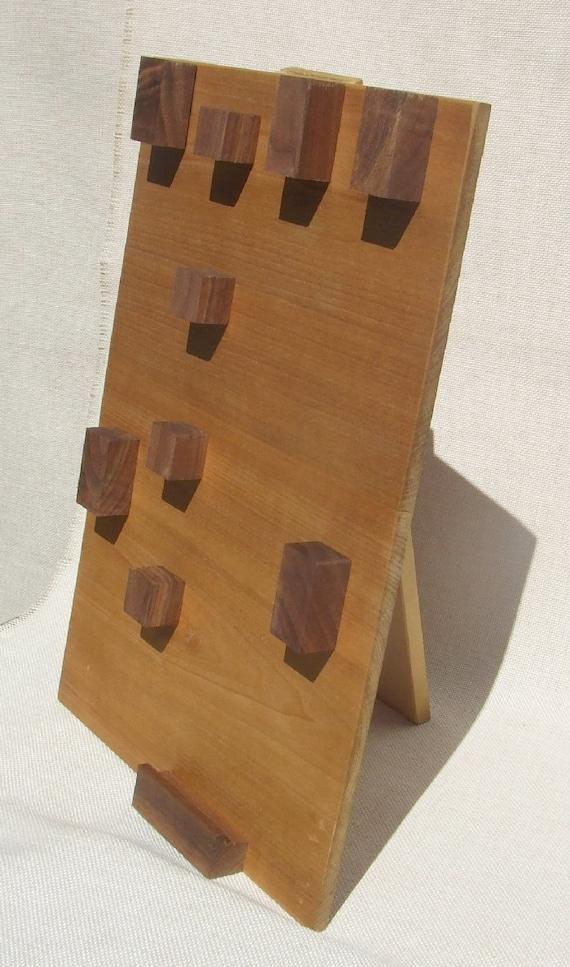 Wood Jewelry Display Hanger Modern Hooks for Showcase - photo#23