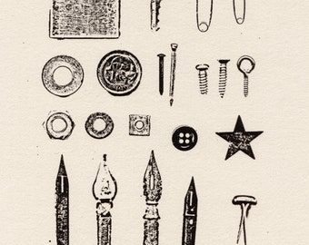 Found Objects - Miscellaneous (Limited Edition Print)