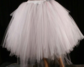 formal adult tulle tutu skirt Princess Dancer Wedding bridal bustle back extra poofy costume prom -- You Choose Size -- Sisters of the Moon