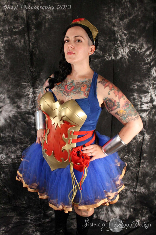 Adult wonder woman skirt-3822