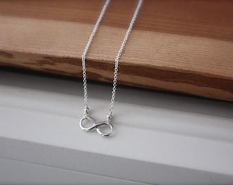 Infinity Neckace- Sterling Silver