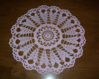 Light Pink Doily