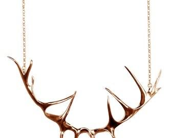 Rose Gold Deer Antler