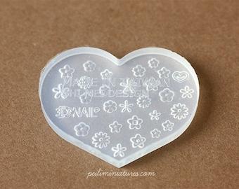 Miniature Clay Push Mold - Assorted Mini Flowers