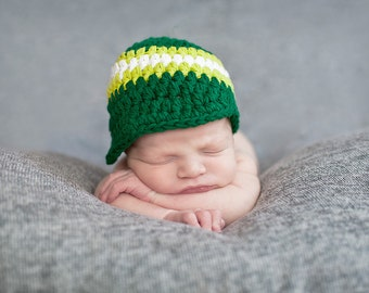 Baby Boy Hat 0 to 3 Month Emerald Green Baby Hat Lime Green Baby Boy Clothes Baby Boy Cap Hospital Hat Photo Prop Photography Prop Baby Gift