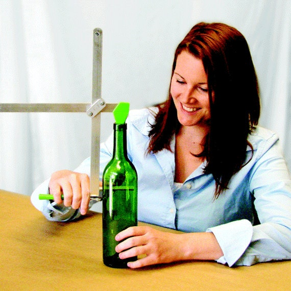 Items similar to generation green g2 bottle cutter for for Glass cutter for wine bottles