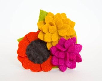 Dog Collar Flower - Autumn Posey