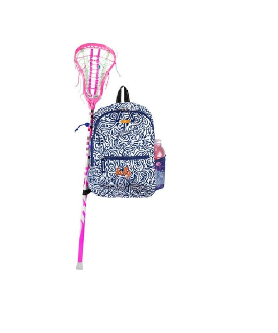 scout backpack big draw personalized lacrosse field