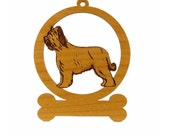 Briard Dog Ornament 081976 Personalized With Your Dog's Name