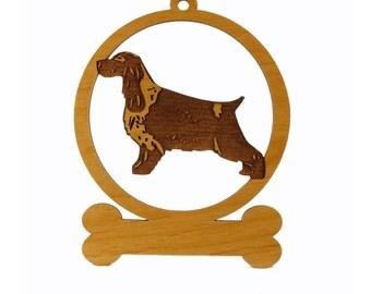 083150 English Cocker Spaniel Ornament
