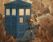 The Doctor's Wife 5x7 mini art print