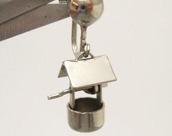 Wishing Well Earrings Vintage Jewelry E5747