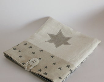 Ipad gadget sleeve star linen