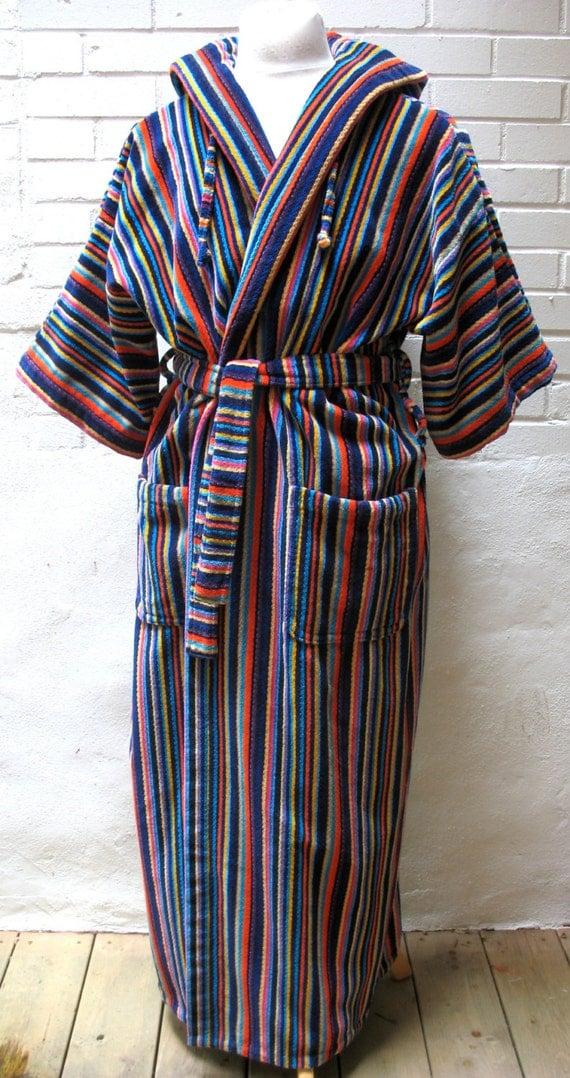 Short Cotton Kimono Robe