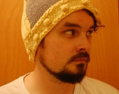 Winged Knit Helmet Hat