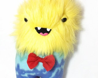Monster Plushie - Rainbow Furry Stuffed Toy a