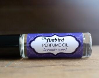 Lavender Wood Perfume Oil, Lavender, Cedar, Sandalwood