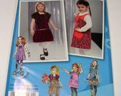 Childs Jumper,Skirt,Shrug Pattern Size 4,5,6,7,8  Uncut Simplicity 2574