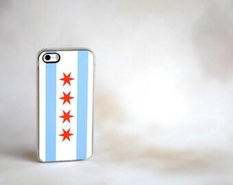 Phone Case, Chicago Flag Custom iPhone Case - unique iphone cases, gifts, gift ideas iPhone 6 Case, iPhone 6 Plus, 6+ Case