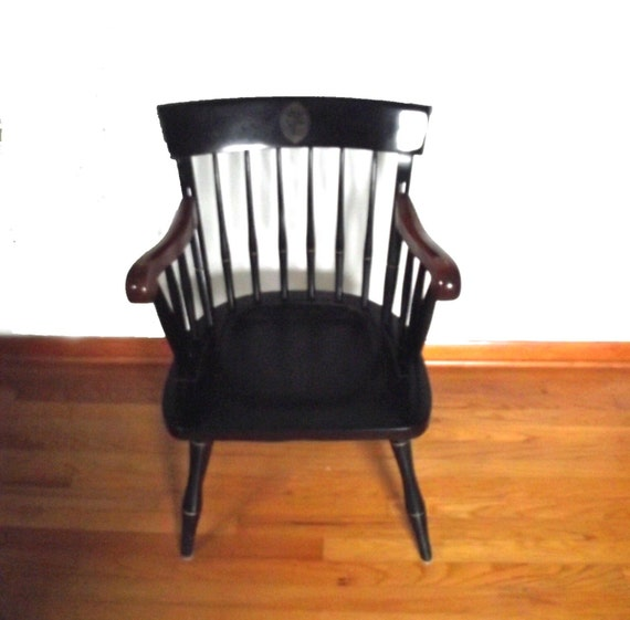 Vintage Johns Hopkins Alumni Chair Nichols N By