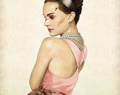 Slaughterhouse Starlets - Natalie Portman Print