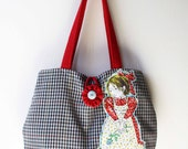 Holly Hobbie Vintage Tote Market Bag