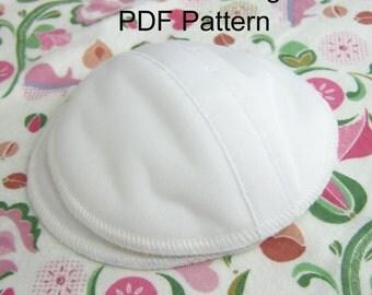PDF Sewing Pattern for Contoured Nursing Pad Sewing Pattern, Contoured Pad with Leakproof Layer
