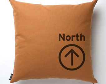 North Pillow in Copper with fill