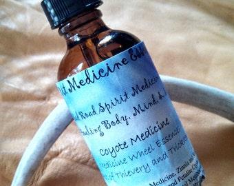 Coyote Medicine - 2oz - Red Road Spirit Medicine Essence