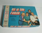 All in the Family Game - by Milton Bradley 1972 - Complete - 4206