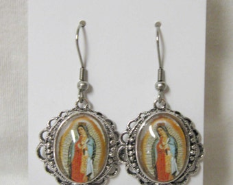Our Lady of Guadalupe earrings - AP06-510