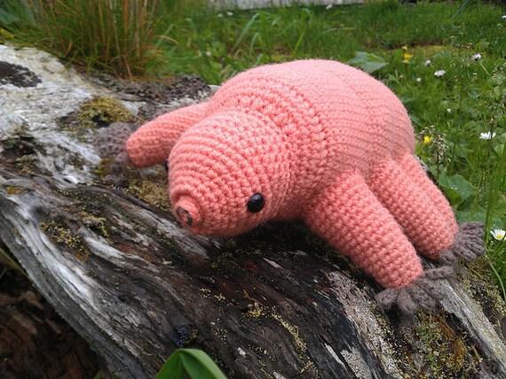 Tardigrade water bear crochet pattern PDF by hepp on Etsy